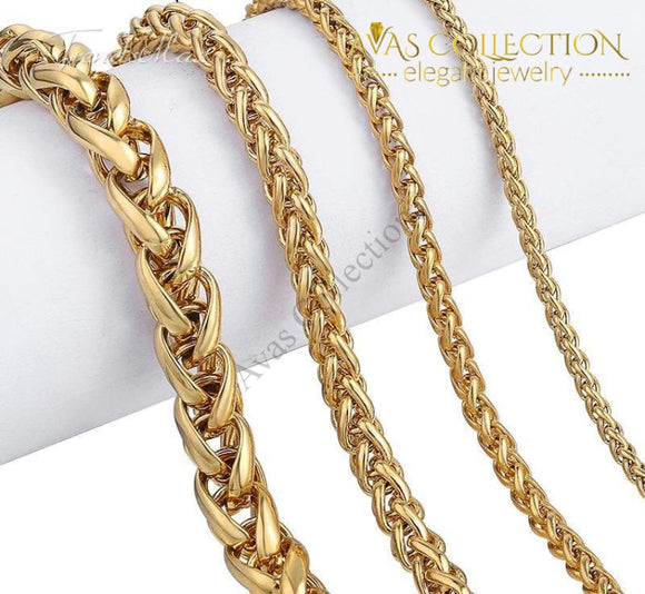 Braided Necklace Chain Necklaces