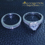 Heart Ring Set Rings