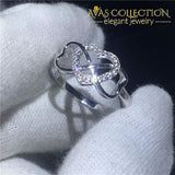 Heart Lovers Promise Ring Rings