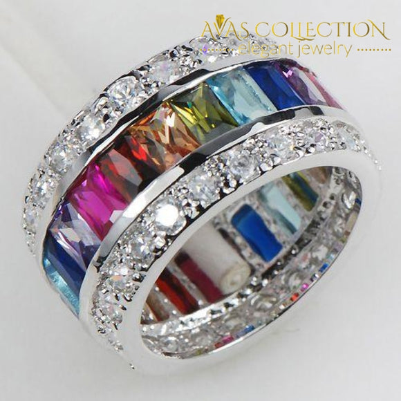 Rainbow Ring - Avas Collection