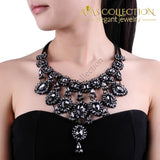 Elegant 5 Colors Crystal Necklace Pendant Necklaces