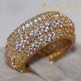10KT Yellow Gold Filled Fashion Ring - Avas Collection