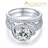 Vintage Style 2 Ct Engagement Ring Rings
