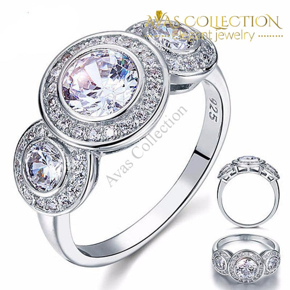 2.5 Carat Wedding Engagement Ring Rings