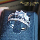 Engagement Ring Set- 3Ct Rings