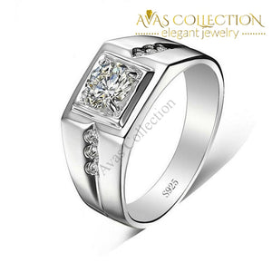 Mens Band Rings