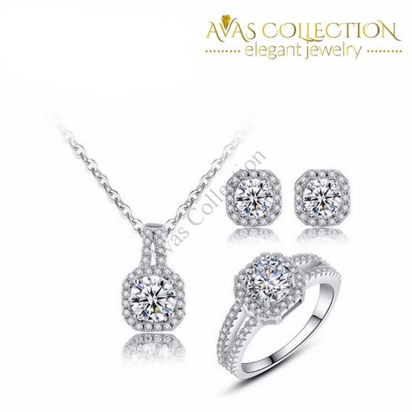 Beautiful 3 Piece Set Pendant Necklaces