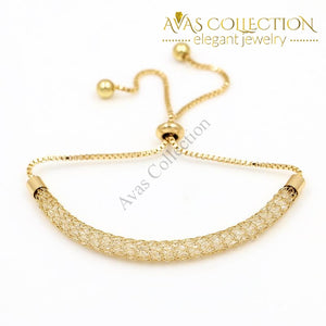 Crystal Adjustable Bracelets For Women/ Avas Collection Bracelet Chain & Link