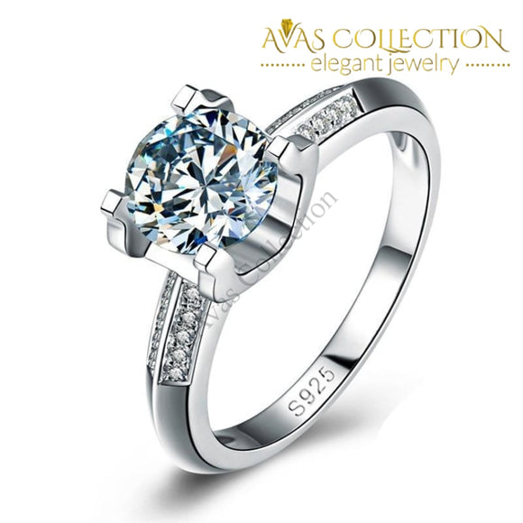 1 Carat Classy Engagement Ring Rings