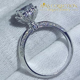 Round Cut Elegant Promise/Engagement Ring - Avas Collection