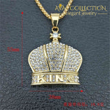 Crown Cross Pendants Necklace Chain Pendant Necklaces