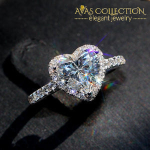 Stunning  Heart Shape Ring - Avas Collection