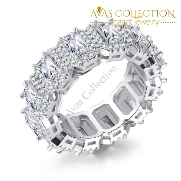 Elegant Eternity Ring Wedding Bands
