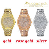 2019 Luxury Design Quartz Diamond Watch For Men Iced Out Watches