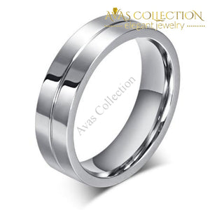 Couple Rings  Stainless Steel Wedding Rings - Avas Collection