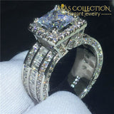 Luxury Court Engagement/ Anniversary Rng 3Ct 5 Home
