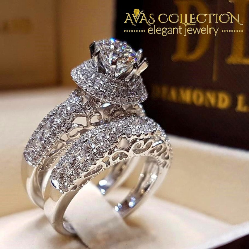 Luxury Wedding Ring Sets