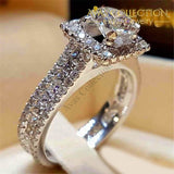 Luxury Cute Promise Engagement Rings For Women-Smt3829