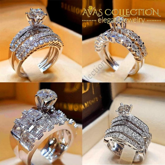 Luxury Wedding Rings 4 Styles Engagement