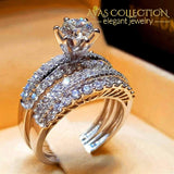 Luxury Wedding Rings 4 Styles 10 / 01 Engagement