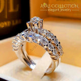 Luxury Wedding Rings 4 Styles 10 / 02 Engagement