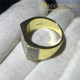 Male 14k Yellow Gold Filled Hip Hop Ring - Avas Collection