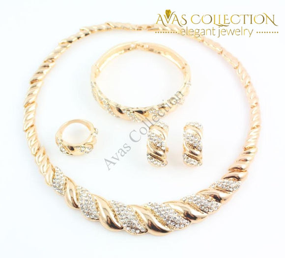 Gorgeous 4Pcs Set Jewelry Sets