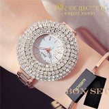 Full Crystal Luxury Watch Womens Watches