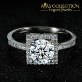 New Arrival Solid 925 Sterling Silver Promise Ring/ Engagement Ring- Lr1300S Rings