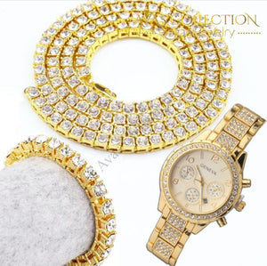Necklace/bracelet/ Watch Set Jewelry Sets