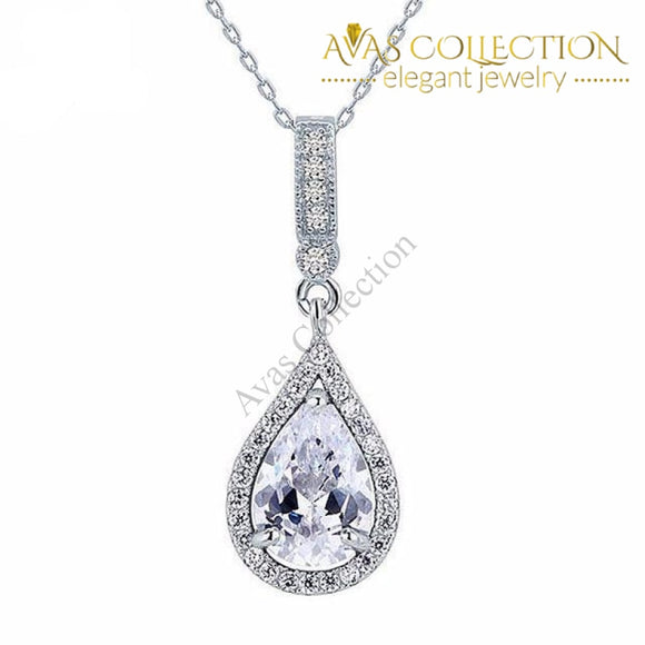 Tear Drop Pendant Necklace Pendants