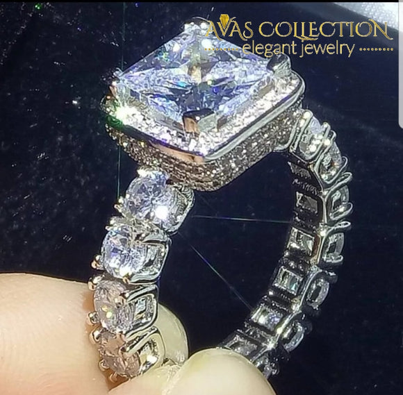 3 Carat Luxury  Engagement Ring - Avas Collection