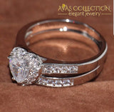 Heart Ring Set - Avas Collection