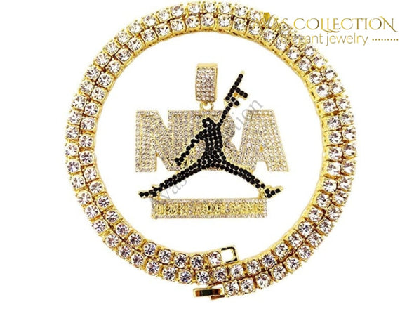 Nba Iced Out Chain