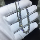 Sparkling  Extend Bracelet White Gold Filled