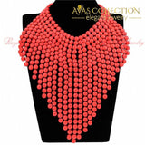 Big Exaggerated Womens Party Necklace Pendant Necklaces