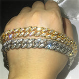 Top Quality Cuban Link Bracelet Iced Out