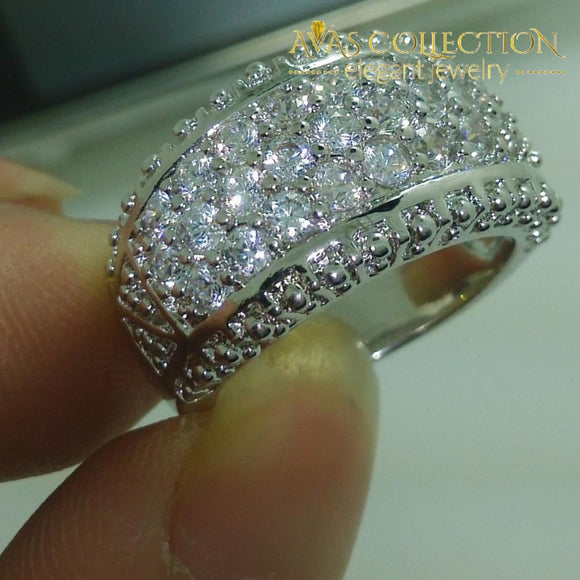 Sparkling Fashion Ring Rings
