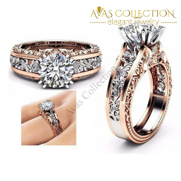 7 Colors Round/ Rose Gold Filled - Avas Collection