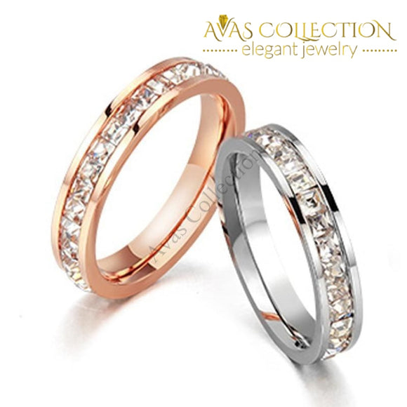 Fine Womens Band Rings
