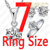 Round Classic 3 Pcs/set Jewelry Sets