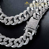 Cuban Chain Iced Out Cz Link Necklaces