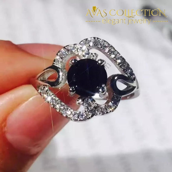 Black Wonder Ring Rings