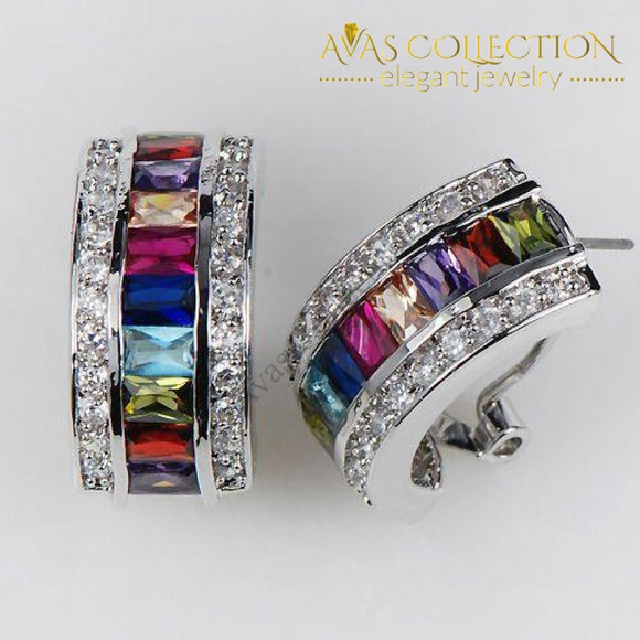 Rainbow Earrings - Avas Collection