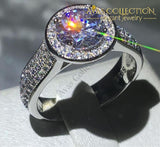 Brilliance Luxury Ring 2Ct Engagement 6 Rings