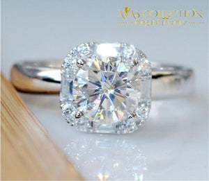 Classic Solitaire Ring Engagement Rings