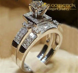 Starlight Wedding Ring Set 10 Engagement Rings