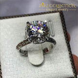 Crown 3ct Elegant Ring - Avas Collection