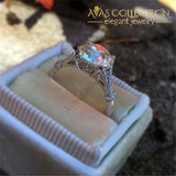Choucong Solitaire Ring 2Ct Aaaaa Cz 925 Sterling Silver Engagement Wedding Band Rings For Women
