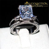 Luxury 10ct Eiffel Tower Engagement Ring - Avas Collection